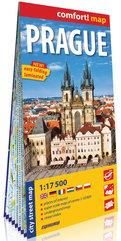 Praga laminowany plan miasta 1:17 500