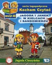 Kocham Czytać Zeszyt 48 Jagoda i Janek w Kielcach i Sandomierzu