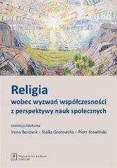 Religia wobec wyzwań współczesności z perspektywy nauk społecznych