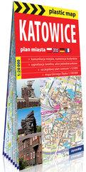 Katowice foliowany plan miasta 1:20 000