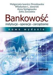 Bankowość Instytucje operacje zarządzanie
