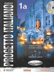 Nuovo Progetto Italiano 1A podręcznik + CD wersja wieloletnia