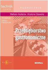 Przedsiębiorstwo gastronomiczne podręcznik