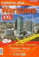 Warszawa XXL Najlepszy atlas