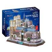 Puzzle 3D LED Katedra Notre Dame 149