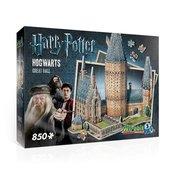 Wrebbit 3D puzzle Harry Potter Hogwarts Great Hall - 850 elementów