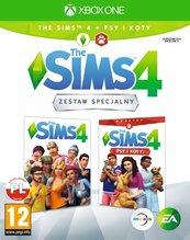 Zestaw The Sims 4 + dodatek Psy i Koty (XOne) PL