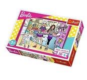 Puzzle Barbie Wspólne gotowanie 30
