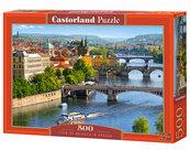 Puzzle View of Bridges in Prague 500