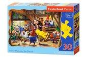 Puzzle Królewna Śnieżka i Krasnoludki 30
