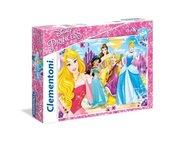 Puzzle Supercolor Maxi Księżniczki 104