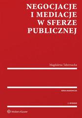 Negocjacje i mediacje w sferze publicznej