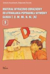 Materiał wyrazowo-obrazkowy do utrwalania poprawnej wymowy głosek t, d, m, mi, n, ni (ń)