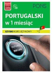 Portugalski w 1 miesiąc Szybki kurs językowy + CD