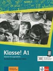 Klasse! A1 Kursbuch mit Audios und Videos