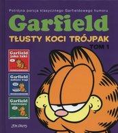Garfield Tłusty koci trójpak Tom 1