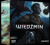 Puzzle Bohaterowie Wiedźmina seria 1 REGIS