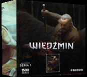 Puzzle Bohaterowie Wiedźmina seria 1 VESEMIR
