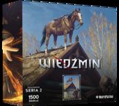 Puzzle Bohaterowie Wiedźmina seria 2 PŁOTKA