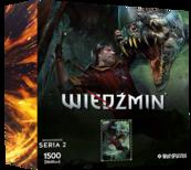Puzzle Bohaterowie Wiedźmina seria 2 ESKEL