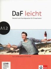 DaF leicht A1.2. Kurs- und Übungsbuch + DVD