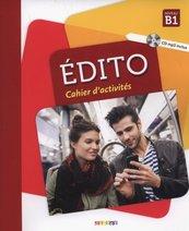 Edito B1 Cahier d'activites + CD