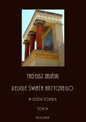 Religie świata antycznego w sześciu tomach. Hellenizm a judaizm, część druga. Tom IV
