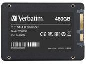 """DYSK WEWNĘTRZNY VERBATIM VI500 S3 SSD 480GB 2.5"""" SATA III CZARNY"""