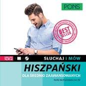 Słuchaj i mów Hiszpański dla średnio zaawansowanych + CD