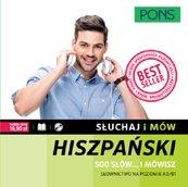 Słuchaj i mów Hiszpański 500 słów... mówisz + CD