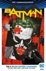 Batman Tom 4 Wojna Żartów z Zagadkami