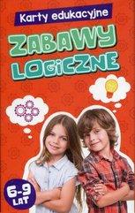 Karty edukacyjne Zabawy logiczne 6-9 lat
