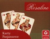 Rosaline Karty pasjansowe 2 x 55 listków