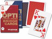 Karty do gry Piatnik 1 talia, Opti brydż