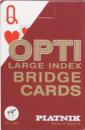 Karty Piatnik Opti - Brydż - 2 Duże Indeksy (Karty Klasyczne)