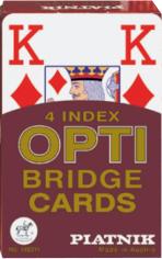 Karty Piatnik Opti - Brydż - 4 Duże Indeksy (Karty Klasyczne)