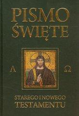 Pismo Święte Starego i Nowego Testamentu Czarne