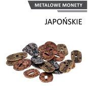 Metalowe monety - Japońskie (zestaw 24 monet)