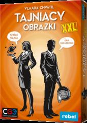 Tajniacy Obrazki XXL (Gra Karciana)