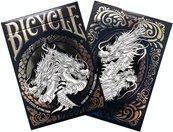 Bicycle: Dragon White (karty klasyczne)