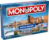 Monopoly: Edycja Gdańsk (Gra Planszowa) + Moneta