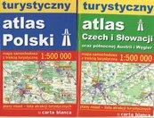 Turystyczny atlas Czech i Słowacji oraz północnej Austrii i Węgier / Turystyczny atlas Polski