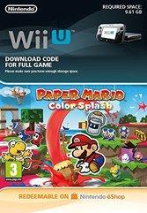 Paper Mario Color Splash ( Wii U DIGITAL)