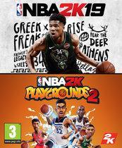 Zestaw NBA 2K19 + NBA 2K Playgrounds 2 (PC) DIGITAL