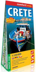 Kreta Crete laminowana mapa turystyczna 1:150 000