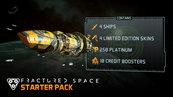 Fractured Space - Starter Pack - Dodatek (PC) klucz Steam