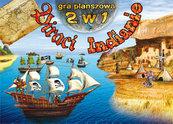Gra planszowa 2 w 1. Piraci. Indianie