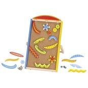 Pinball - flipper na korkowej tablicy
