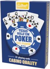 Karty Trefl - Texas Hold'em Poker - Casino Quality 100% Plastic (Karty klasyczne)