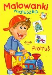 Piotruś Malowanki maluszka